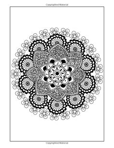 Amazon.com: Coloring Books for Grown-Ups: Flowers Mandala Coloring Book (Intricate Mandala Coloring Books for Adults) Volume 1 (9781514355862): Chiquita Publishing: Books
