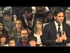 WATCH AND LISTEN!South Carolina: Marco Rubio's Faith Answer Blows Away a Crowd YOUR VOTE MATTERS!