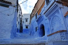 Chefchaouen (Medina), Morocco #bluecity #chefchaouen #medina #morocco #wanderlust #findingmyself #takemethere #overpackedsuitcase #whereidratherbe #coblestones