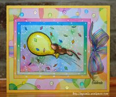 house mouse card