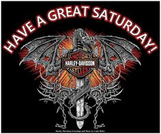 Great Saturday Harley Davidson Decals, Harley Davidson Quotes, Harley Davidson Images, Grim Reaper, Good Old, Classic Cars, Look, Cool Designs, Seasons