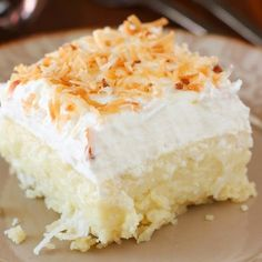 Coconut Cream Pie Bars -- Perfect for Sharing!