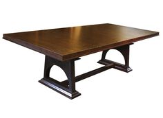 Custom Curly Oak Dining Table
