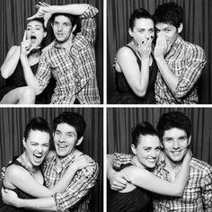 Katie McGrath and Colin Morgan. My ultimate otp!