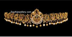 Indian Jewellery Designs - Page 4 of 1785 - Latest Indian Jewellery Designs 2020 ~ 22 Carat Gold Jewellery one gram gold 24k Gold Jewelry, Clean Gold Jewelry, Pendant Jewelry, Jewelery, Diamond Jewelry, Indian Jewellery Design, Latest Jewellery, Jewelry Design, Vaddanam Designs