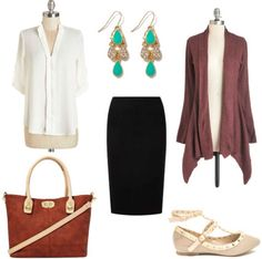 One Outfit, Three Ways: Professional Basics - College Fashion