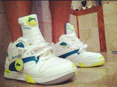 reebok-pump-court-victory-rarebreedfootwear Adidas Stan Smith, Air Jordans, Reebok, Tennis, Nike Air, Baskets, Pump, Slippers, Shoe