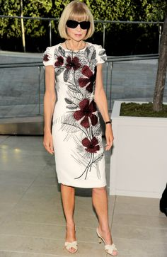 Anna Wintour at the CFDA Fashion Awards in New York City.