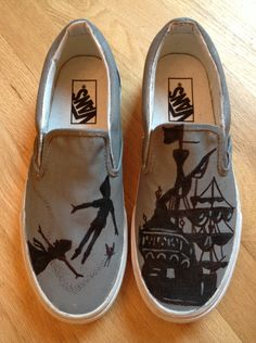 Made to Order PETER PAN shoes by missmalfaisant on Etsy, $110.00