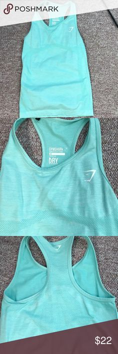 Gymshark seamless vest Like new. I only wore this a handful of times. I just enjoy flowy workout tops. Size xsmall Gymshark Tops Tank Tops