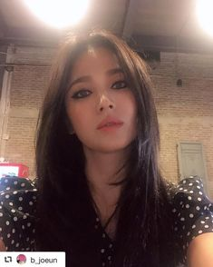 SongHyeKyo/ 송혜교 / 宋慧乔 / Song Hye Kyo Style, Asian Makeup Looks, Beauty Makeup, Hair Beauty, Fall Makeup, Korean Celebrities, Beautiful Asian Women, Korean Actresses, Celebrity Hairstyles