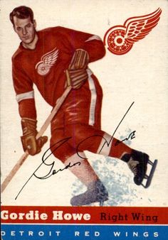 Collect the best Gordie Howe hockey cards of all-time, with a focus on vintage cards. Detroit Red Wings, Nhl All Star Game, Red Wings Hockey, Sports Figures, National Hockey League, Ice Hockey, Cool Cards, Baseball Cards, Cards