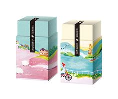 tea packaging design 包裝設計與插圖 http://oupt.tumblr.com/