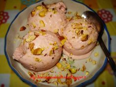 Easy Mango Strawberry Ice Cream