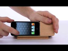 Areaware iPhone alarm dock gives bedrooms a modernist edge