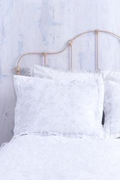 Shabby Chic Bedding Created with Pure White by CLOUDHUNTERCO