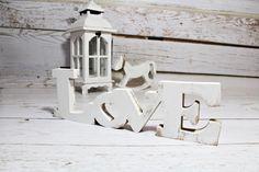 DUŻY napis LOVE STOJĄCY OZDOBA 3D dekoracja 40cm - sweety-home - Litery i napisy