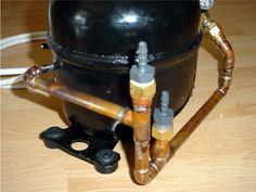 Réalisation Homemade Lathe, Homemade Tools, Air Compressor Repair, Atlantis, Map Sensor, Spot Welder, Refrigerator Compressor, Tool Table, Diy Cnc