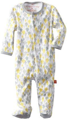 Amazon.com: Magnificent Baby Unisex Newborn Footie: Clothing