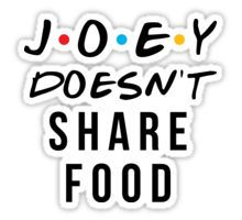 Food stickers featuring millions of original designs created by independent artists. Friends Tv Quotes, Joey Friends, Friends Poster, Friends Moments, I Love My Friends, Friends Tv Show, Friends Series, Printable Stickers, Cute Stickers