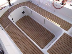 ef43ea40 Covering cockpit with Nuteak Synthetic Teak flooring. :) - Tap on the link  to see the newly released collections for amazing beach bikinis!