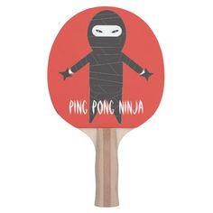Ninja Ping Pong Paddle #ping #pong #paddles
