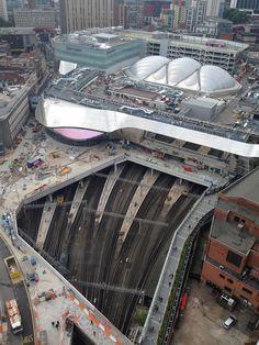 New Street railway station, Birmingham, England