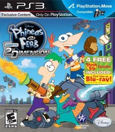 Phineas and Ferb: Across the 2nd Dimension Your #1 Source for Video Games…