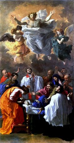 The Miracle of Saint Francis Xavier 1642, Nicholas Poussin  http://upload.wikimedia.org/wikipedia/commons/thumb/e/ec/Poussin_Miracle_de_saint_Fran%C3%A7ois_Xavier_Louvre.jpg/640px-Poussin_Miracle_de_s...