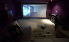 COOL! Best cinema rooms #watch your #cult #movie in your #diy #cinema #room