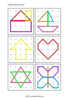 Geo board for toddlers - Montessori Activities, Math Classroom, Kindergarten Math, Educational Activities, Learning Activities, Toddler Activities, Preschool Activities, Toddler Activity Bags, Card Games For Kids