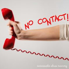 No contact is so important for survivors. The narcissist feeds on making you miserable, whether it's on the phone, voice mails, text messages, emails, and social networking sites.  Resist the urge to respond to these barbs.  Ignoring them is the only way to make them go away-eventually they lose interest.  ~ Pamela