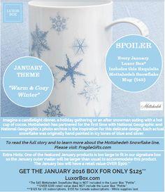 January Box Spoiler