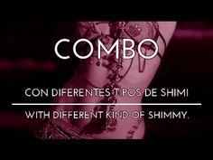 COMBO. DIFERENTES TIPOS DE SHIMI. PASOS BÁSICOS. DANZA DEL VIENTRE. TRIBAL FUSION. - YouTube