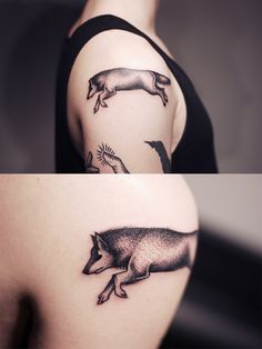 Tattoo 2013 - Part II by Kamil Czapiga, via Behance #wolf