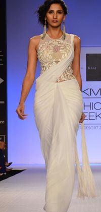 Gorgeous #Saree Gown from http://SonaakshiRaaj.in/collections.html Site