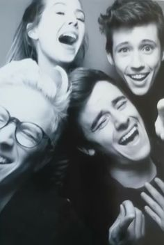 Tyler, Zoe, Troye, and Connor