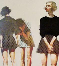 by Michael Carson Minneapolis, MN) Portrait Art, Abstract Portrait, Art For Art Sake, Fashion Art, Ladies Fashion, Figure Painting, Figurative Art, Art Photography, Illustration Art
