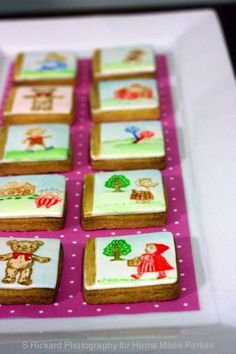 Hand painted story book character cookies by Spoon and Fork