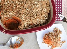 Clean eating sweet potato casserole - The Fitnessista