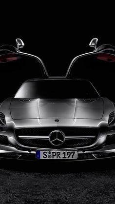 Mercedes Benz SLS! Click the pic for info on how to be rich! - LGMSports.com