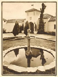 Rudolph Valentino's House - Falcon Lair