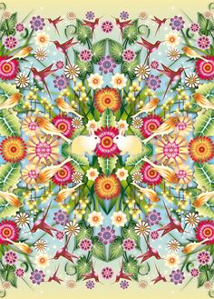 Catalina Estrada - Hire an Illustrator Cool Patterns, Beautiful Patterns, Textures Patterns, Print Patterns, Design Patterns, Surface Pattern Design, Pattern Art, Let's Make Art, Blog Fotografia