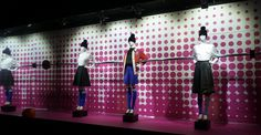 "Galeries Lafayette Paris,""kick the ball Claudia"", pinned by Ton van der Veer"
