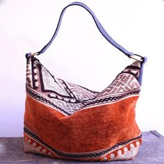 Mina Bag Orange Brown, $74, now featured on Fab.