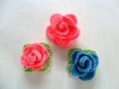 Flor em crochê para aplique *passo a passo* - YouTube
