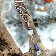 Breath of Heaven Lapis Lazuli Ear Cuff 2 in 1 Earcuff. $20.00, via Etsy.