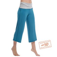 AllActiveProductsExcludingGiftCards - Bamboo 3/4 Length Fold Down Pants 40% OFF - New Zealand Nature
