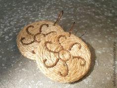 Солнечное Триполье - мед,медные украшения,медные серьги,бечевка,веревочные серьги
