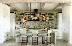 Kitchen | Richard Hallberg Interior Design via Veranda
